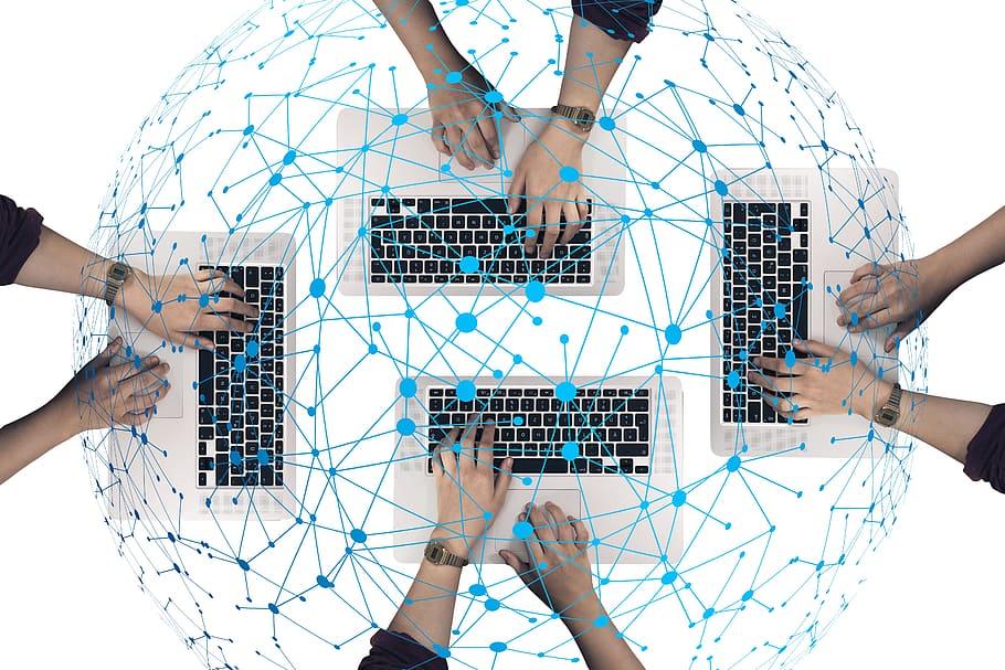 network_social_abstract_keyboard